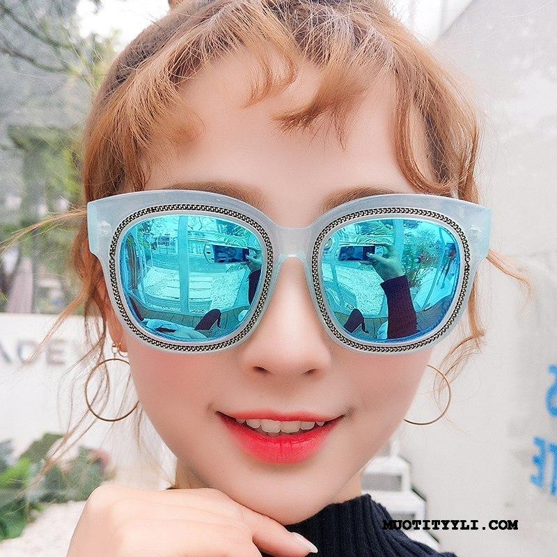 Naisten Aurinkolasit Halpa Naisille Likinäköisyys Suuri Suuntaus Julkkis Sininen