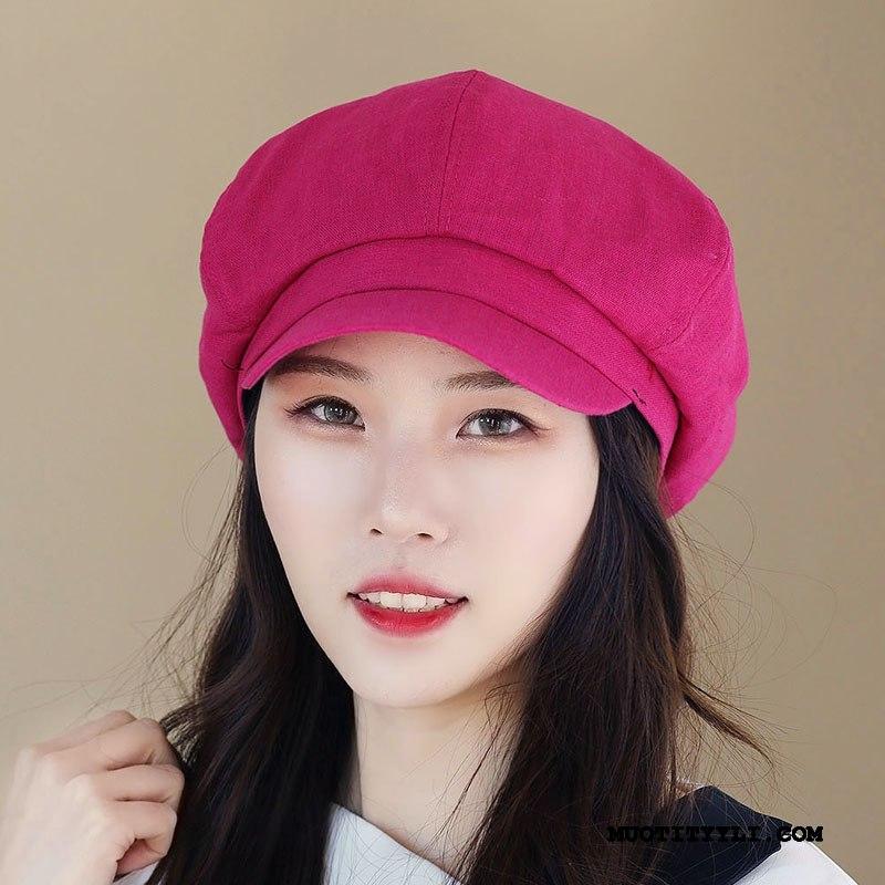 Naisten Hattu Halpa Kevät Kesä Tila Ulkoilu Suuri Rose Punainen