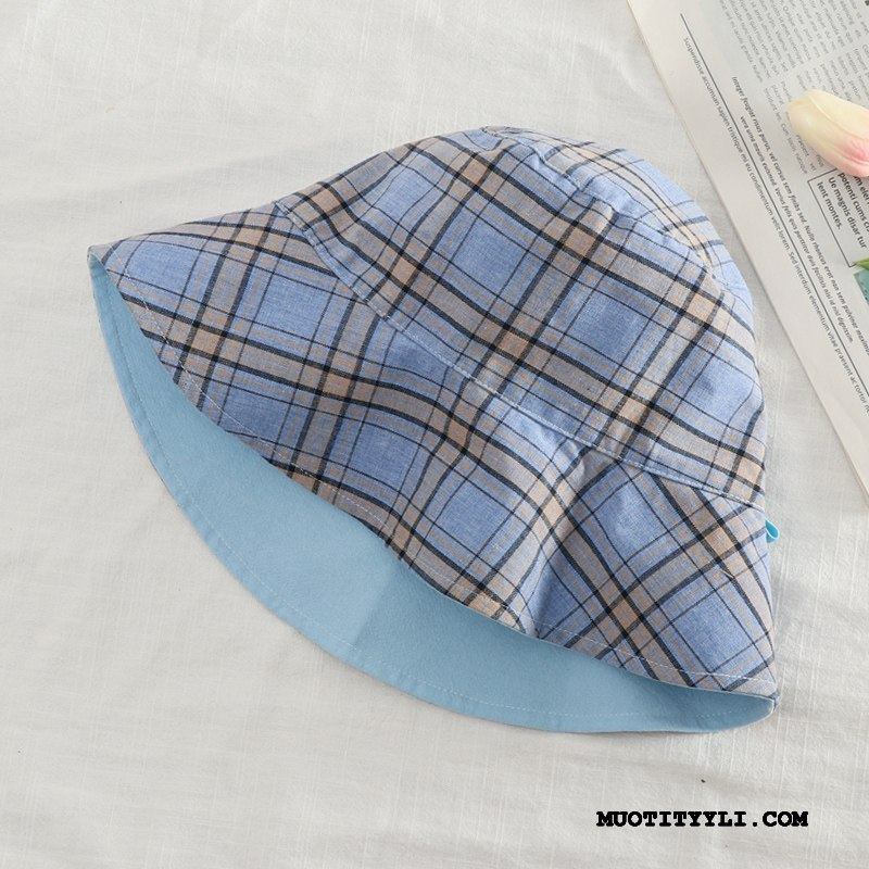 Naisten Hattu Halvat Aurinkohattu Kalastaja Hattu Matkustaminen Aurinkovoiteet Villit Sininen