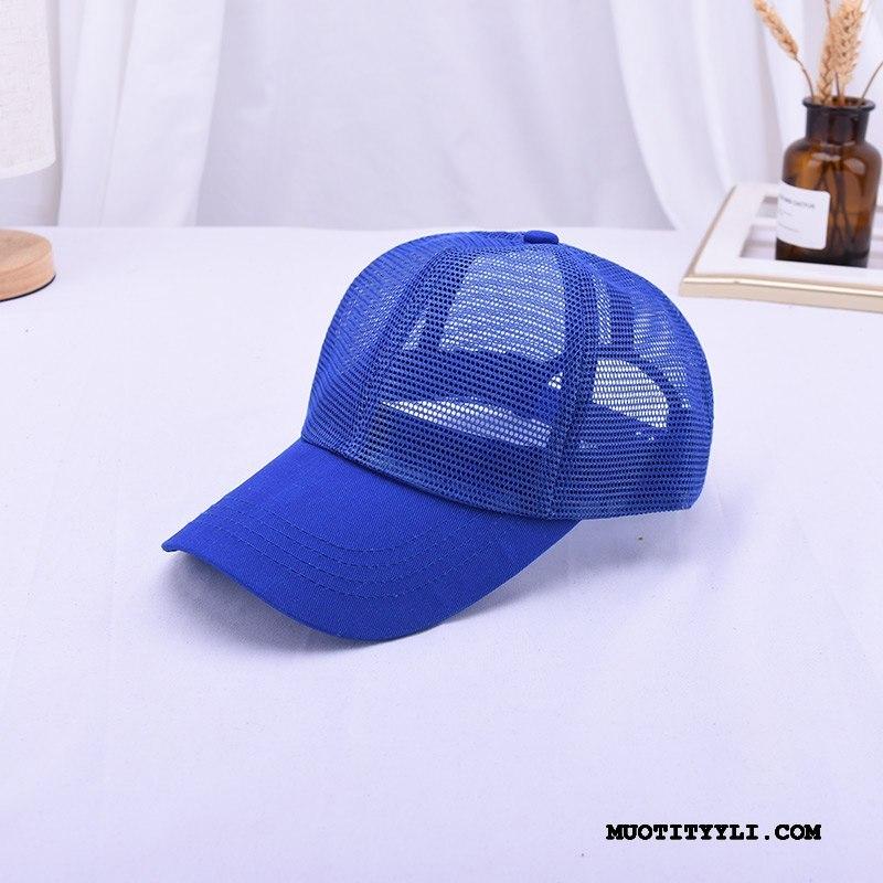 Naisten Hattu Myynti Baseball-korkki Rakastunut Katu Matkustaminen Naisille Fluoresoiva Sininen