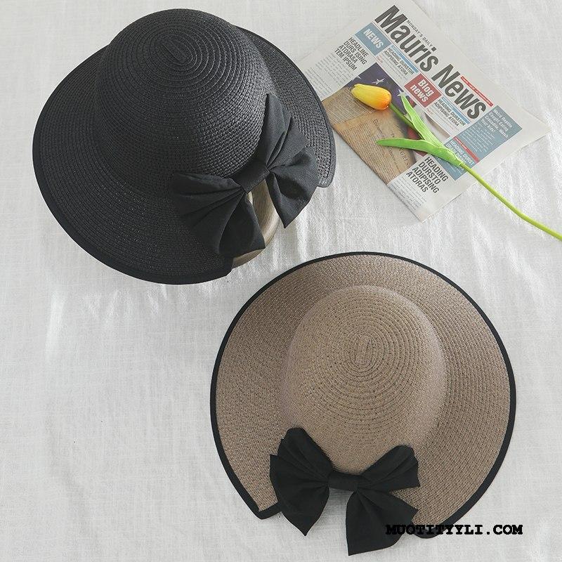 Naisten Hattu Myynti Kustannukset Shade Aurinkovoiteet Pieni Rintaliivit Aurinkohattu Musta