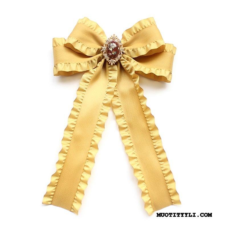 Naisten Rusetti Myynti Tytöt Yhtenäinen Lisälaitteet Perhonen Suuri Keltainen