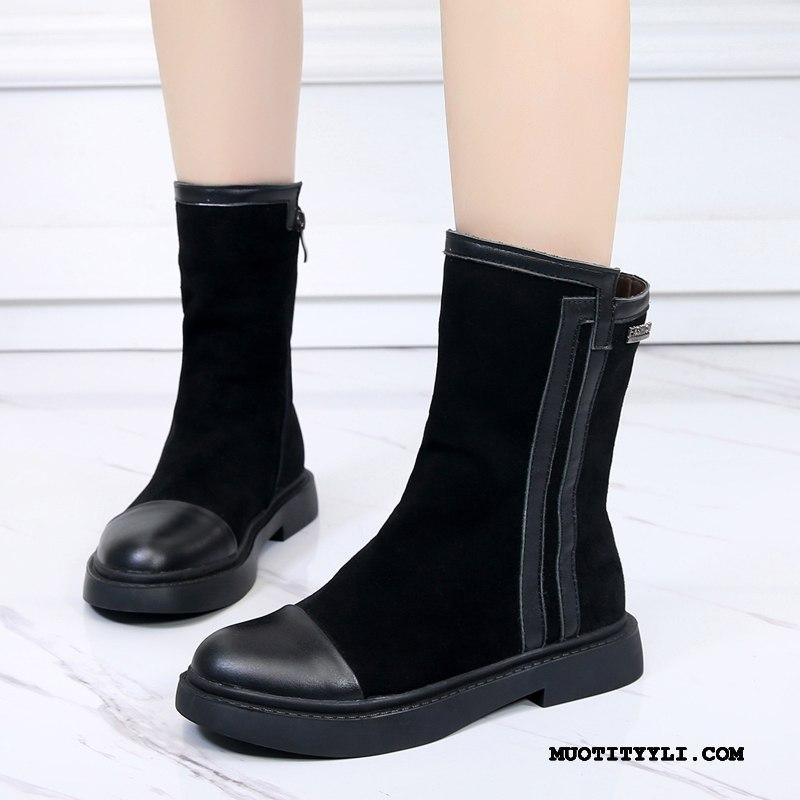 Naisten Saappaat Verkossa Naisille Kengät Syksy Talvi Kevät Musta