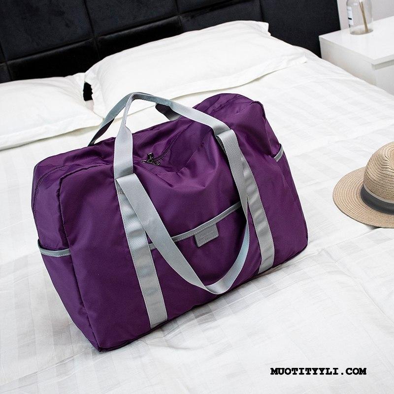 Naisten Vaellusreppu Halvat Lyhyt Naisille Laukku Kannettava Olkalaukut Violetti